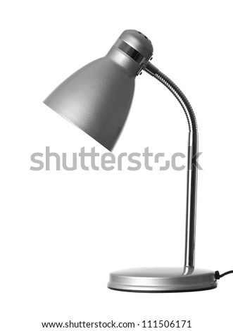 Isolate Table Lamp - stock photo