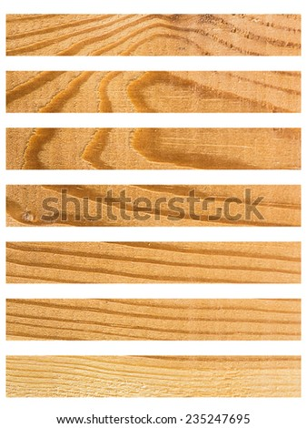 Isolate Wood plank brown texture background