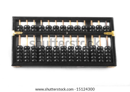 isolated abacus