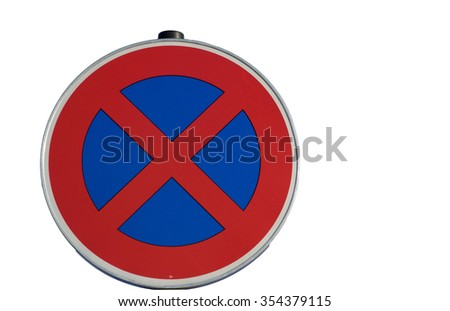 isolated absolute hold sign - stock photo