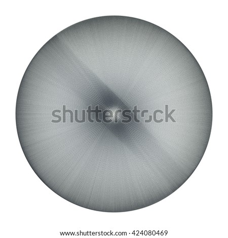 isolated abstract figure