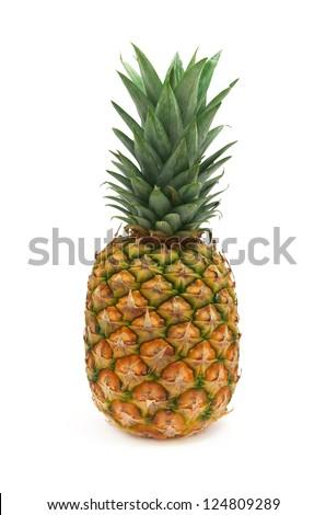 Isolated ananas. Element of design. - stock photo