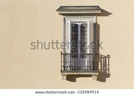 Isolated Balcony