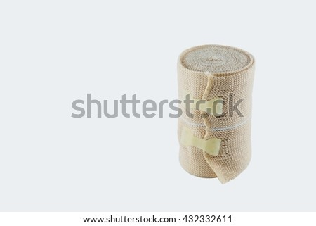 Isolated bandage  - stock photo