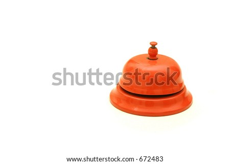 Isolated Bell - stock photo