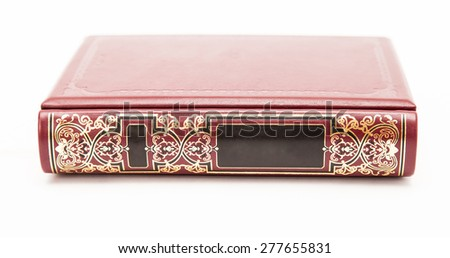 Isolated book - stock photo
