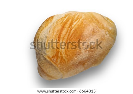 Isolated bread roll