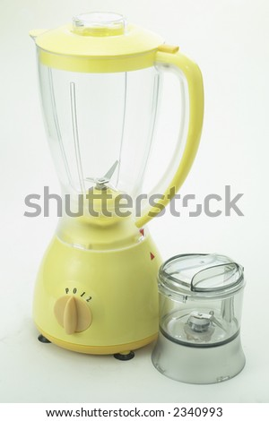 Isolated Chrome Blender - Yellow1