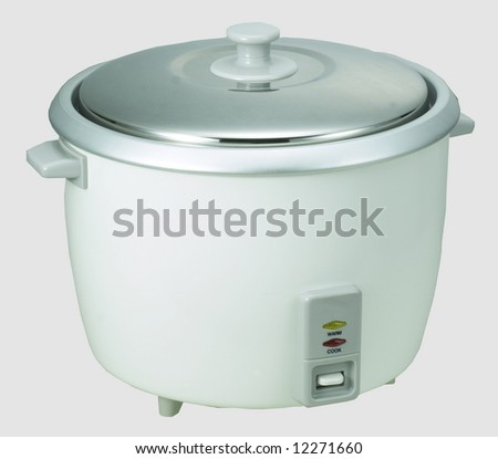 Rice cooker stock photos illustrations and vector art