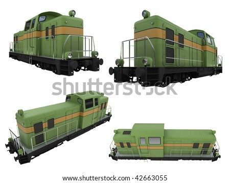Isolated collection of train
