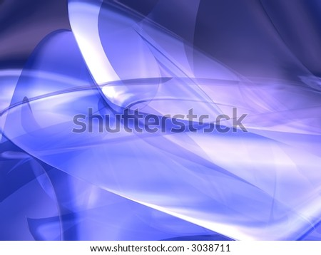 Isolated 3D Background - stock photo