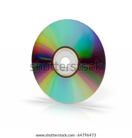 Isolated disc as seen from backside