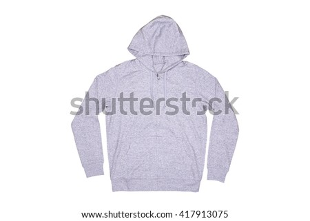 Isolated hooded sweater