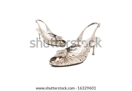 Isolated lady shoes