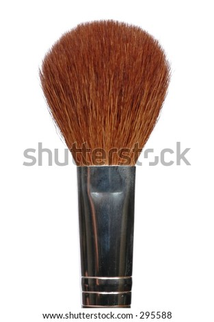 Isolated makeup brush