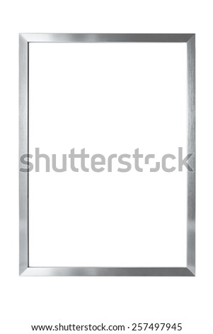 isolated metal frame - Metal Picture Frame