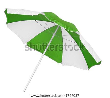 Isolated parasol - stock photo