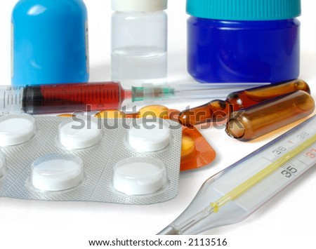 Isolated pharmaceuticals and thermometer
