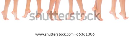 Isolated Purity Care - stock photo