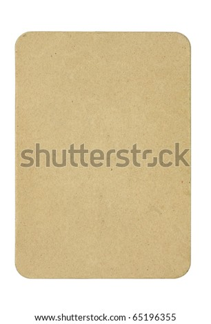 isolated recycled paper pad