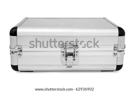 isolated safe on a white background - stock photo