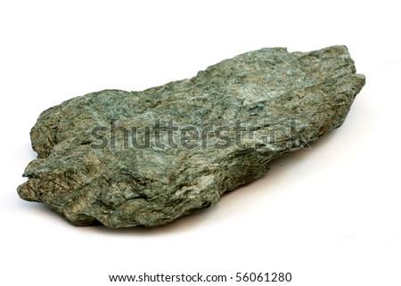 Isolated Sample Metamorphic Rock Phyllite Stock Photo Royalty Free