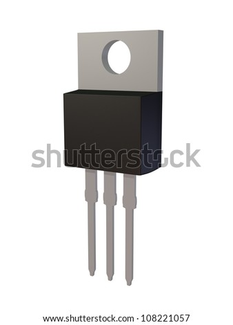 Isolated TO-220AB MOSFET electronic package