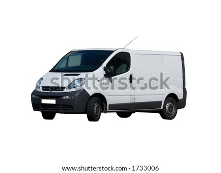 isolated truck(clippingpath included) - stock photo