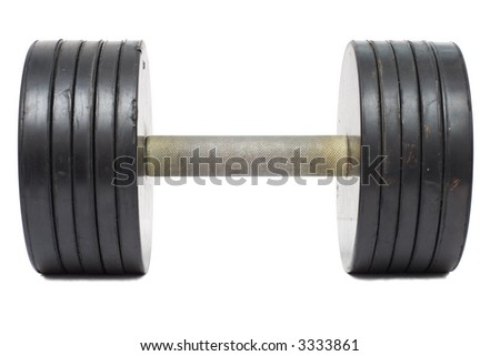 isolated weight - stock photo