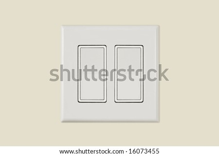 Isolated white light switch