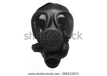 Israeli Gas Mask Front View
