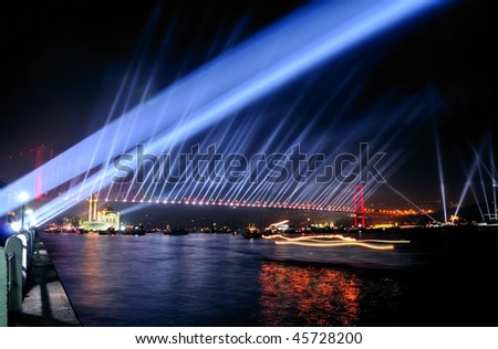 Istanbul City. European Capital of Culture for 2010 - stock photo