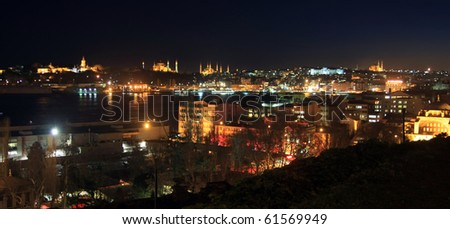 Istanbul-2010 European Capital of Culture - stock photo