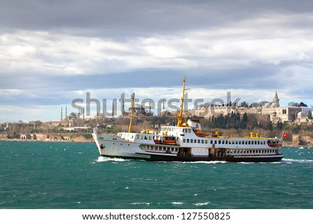 Istanbul Journey - stock photo