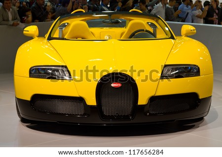 Genial ISTANBUL NOVEMBER 03: Bugatti Veyron Super Sport EB 16.4 At Istanbul Auto  Show 2012 On
