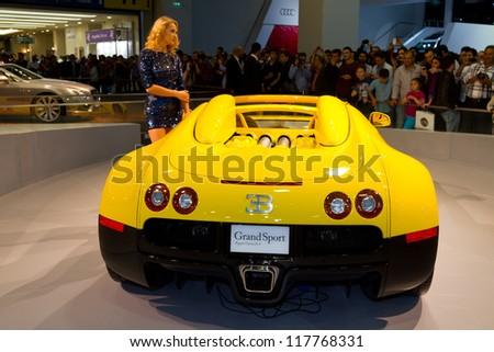 ISTANBUL   NOVEMBER 03: Bugatti Veyron Super Sport EB 16.4 At Istanbul Auto  Show 2012