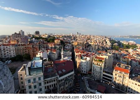 Istanbul panorama - stock photo