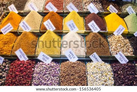 Istanbul Spice Market - stock photo