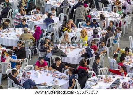 stock-photo-istanbul-turkey-june-rows-of