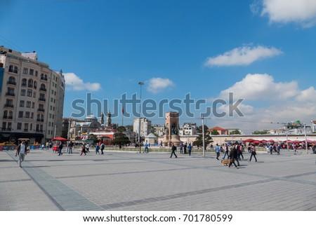 Taksim square pictures decor