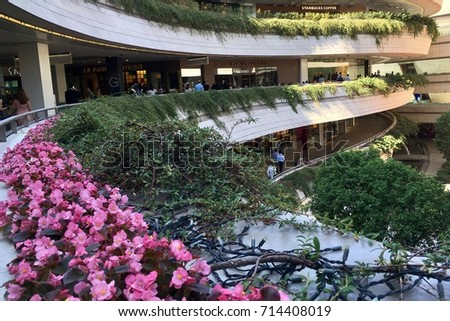 purpose of shopping malls The purpose of a shopping mall having a food court is to encourage shoppers to not stress about essentials such as food, and water, which helps to keep the customers shopping for more time this .