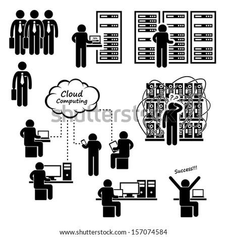 engineer technician admin computer network server stock