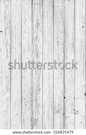 It is a conceptual or metaphor wall banner, grunge, material, aged, rust or construction. Background of light  wooden planks - stock photo