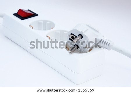it is a plug - stock photo