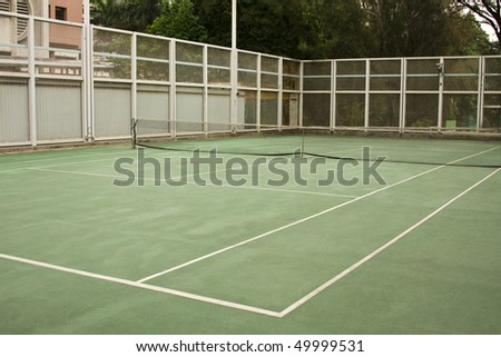It is a stie for people to play tennis