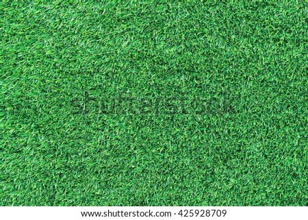 It is Artificial green grass for pattern and background. - stock photo