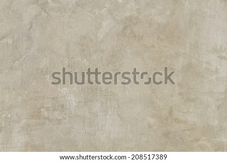 It is design of cement and concrete wall for pattern and background. - stock photo