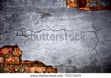 It is gray - a dark blue background in style grunge. - stock photo