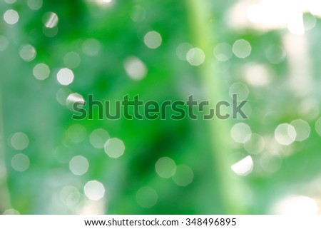 It is Green blur natural background. - stock photo