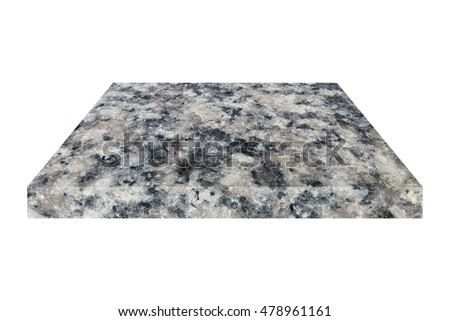 it is marble plate or sheet for construction isolated on white.